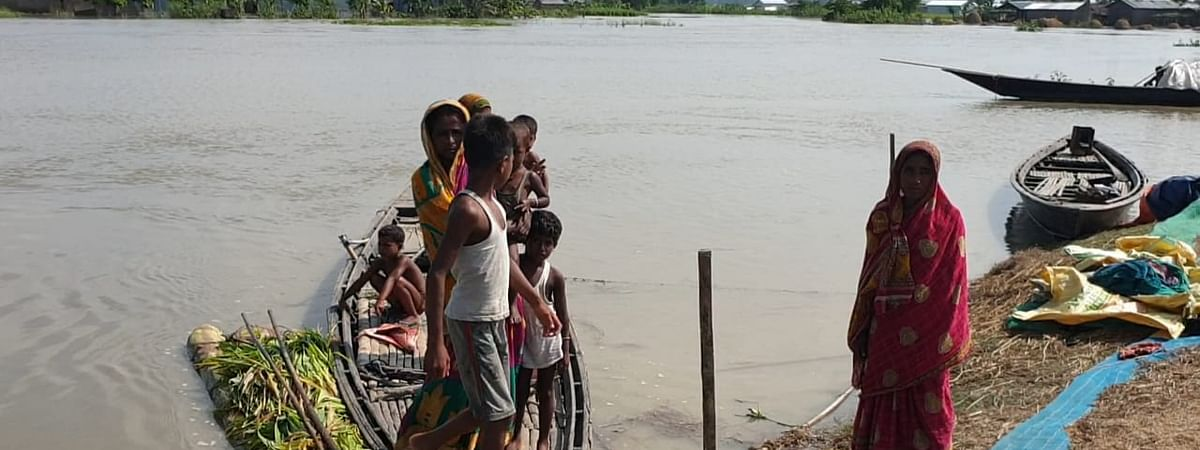 Barpeta has been the worst-hit district with nearly 5.5 lakh people in over 500 villages getting affected