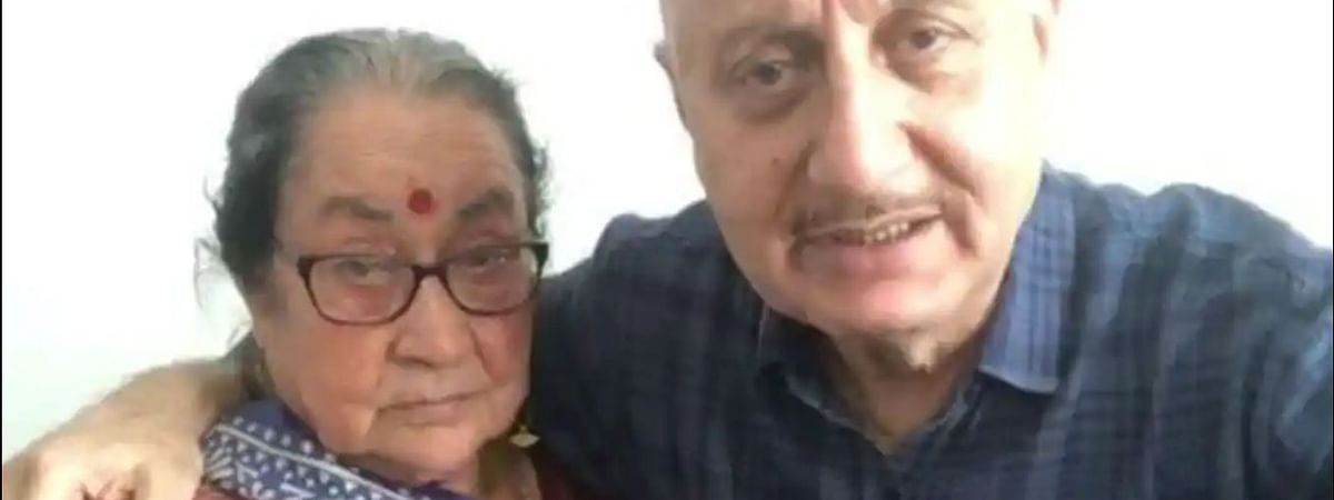 A few days ago, Anupam Kher's mother, brother, niece and sister-in-law tested positive for novel coronavirus and admitted to hospital