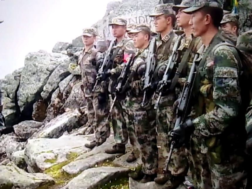 Movement of troops increased along Indo-Sino border in Arunachal