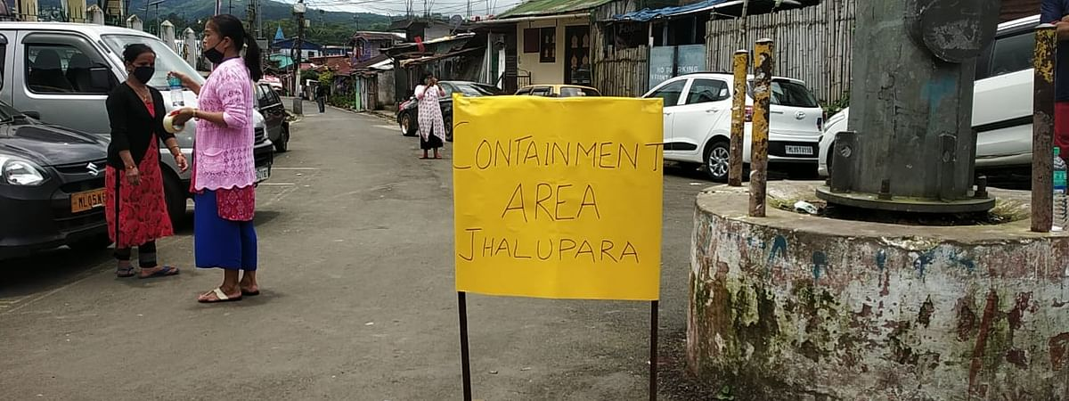 Around 30 localities in Shillong have been declared as containment zones