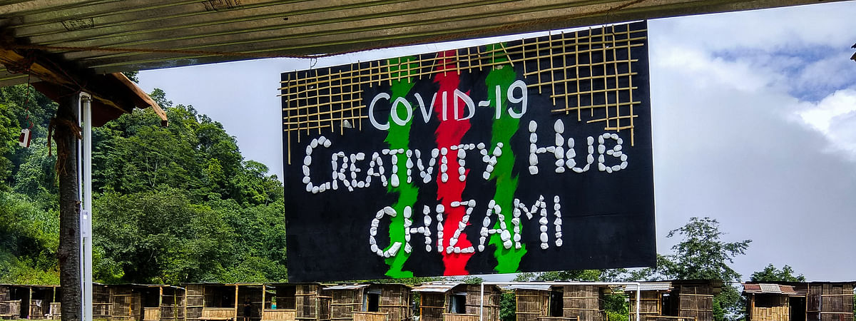 The COVID-19 creativity hub at Chizami under Phek district