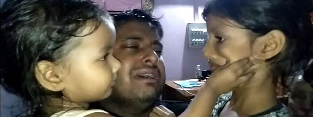 Pranay Kalita leaves behind his two daughters, who are 13 and two years of age, and his wife