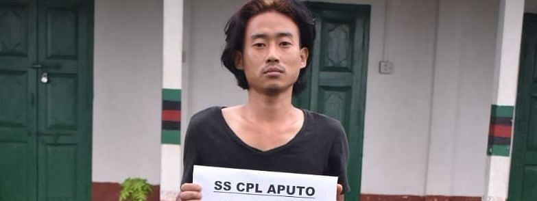 The NSCN (K-YA) militant, identified as Aputo Awomi