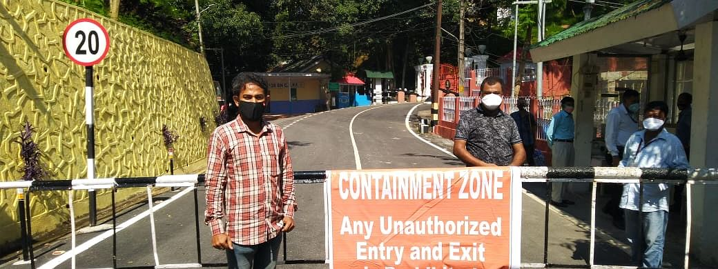 Assam's Raj Bhavan campus had earlier been declared as a  containment zone