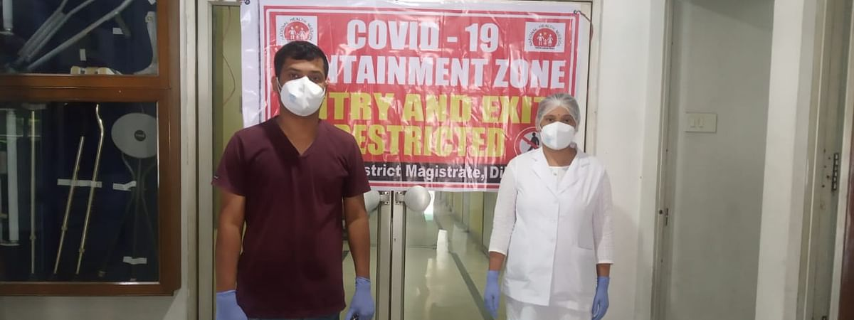 Following the detection of the case, the ground floor of Archana Hospital has been declared containment zone in Assam's Dibrugarh district