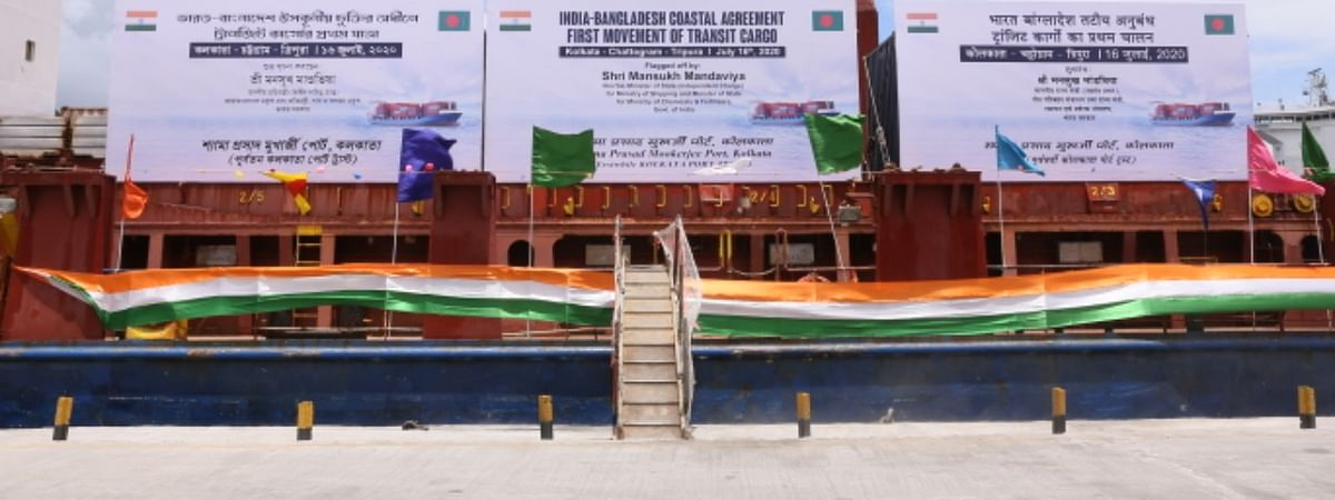 The cargo ship will arrive at Chattogram Port on July 20/21 & containers will arrive at Agartala ICP on July 26 by road