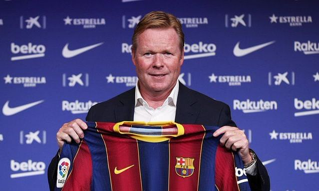Koeman, 57, has signed a two-year deal with Barca, two days after the club sacked Quique Setien