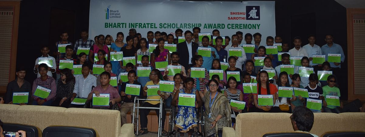 This scholarship comes as a result of the organisation's partnership with Bharti Infratel Ltd