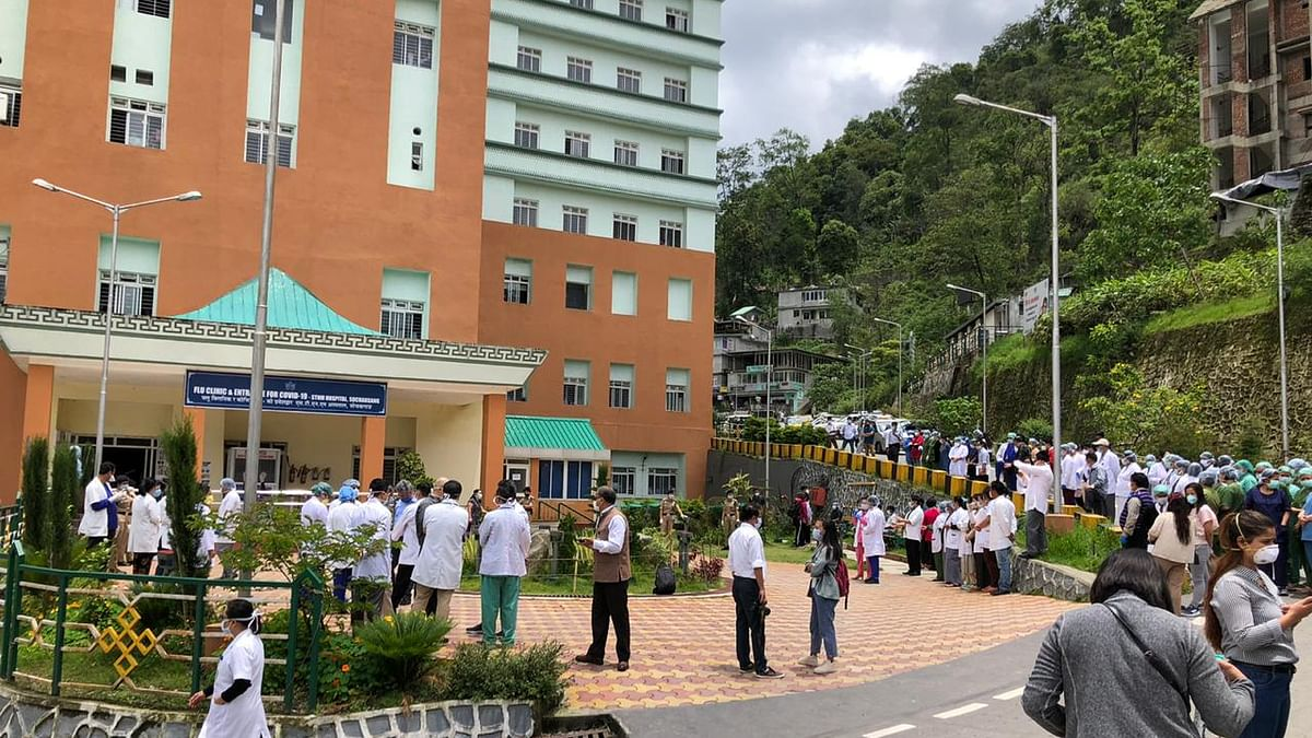 Breaking: Sikkim records first COVID-19 death of health worker
