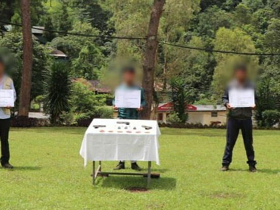Arunachal: 3 hardcore ULFA-I rebels held with arms & ammunition in Tirap