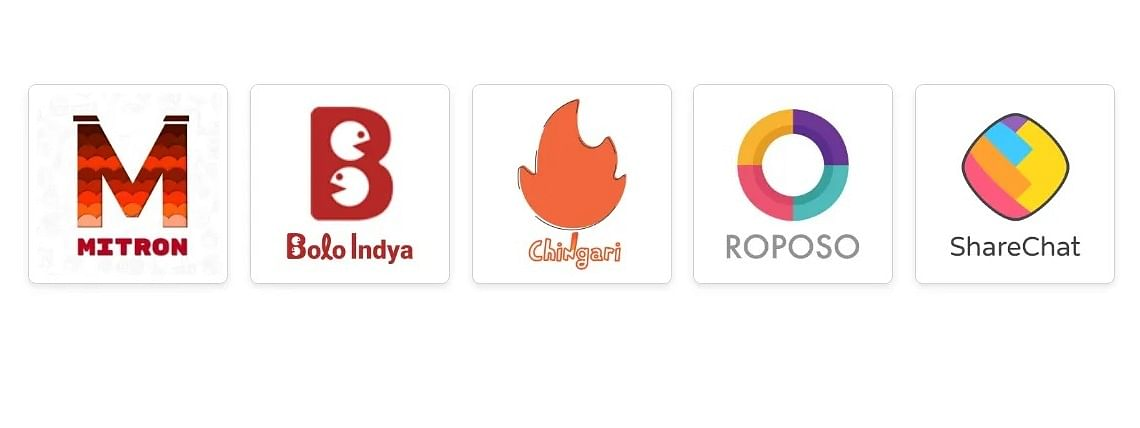 Some apps which a replacement for the banned chinese apps are Mitron, Bolo Indya, Roposo, ShareChat, etc