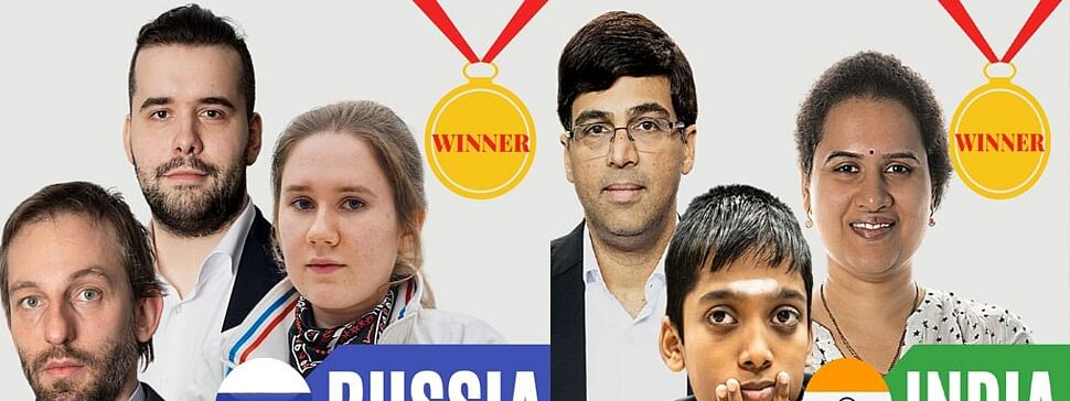 Chess Olympiad champions