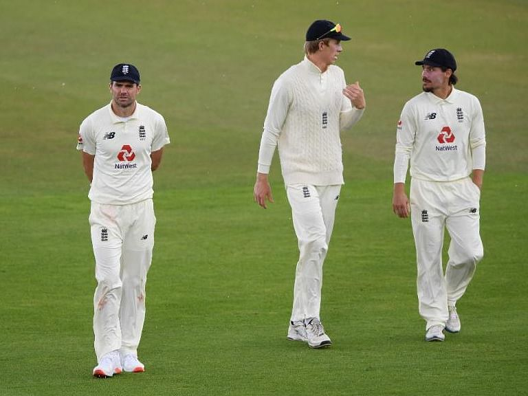 Rains play spoilsport for Eng on Day 4; Anderson's quest to get 600 wickets on