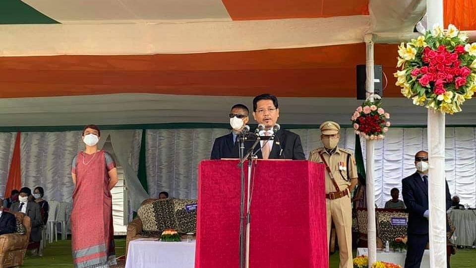 74th Independence day: CM launches 'Restart Meghalaya Mission'