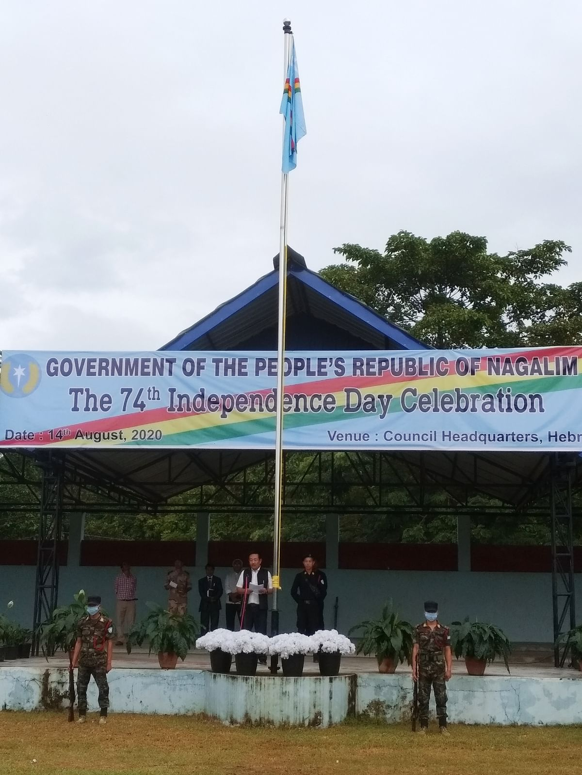 The 74th Naga Independence Day celebration at Camp Hebron