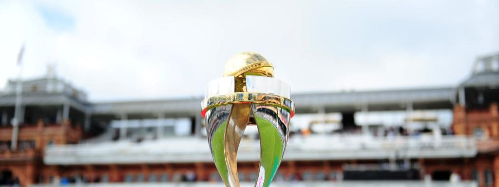 The ICC Women's World Cup trophy
