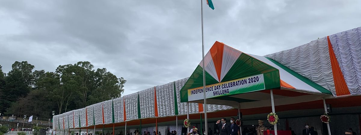 Meghalaya CM Conrad K Sangma lauded the residents of the state while addressing the gathering on 74th Independence Day celebrations in Shillong on Saturday