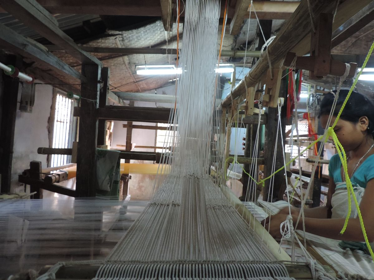 Many weavers have been significantly impacted by the changes since the lockdowns began