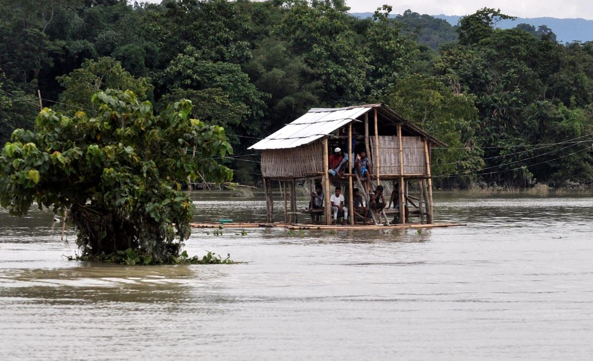 Flood has created havoc in Assam
