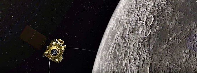 Chandrayaan-2 was launched on July 22 last year and then inserted into the lunar orbit on August 20, exactly a year ago