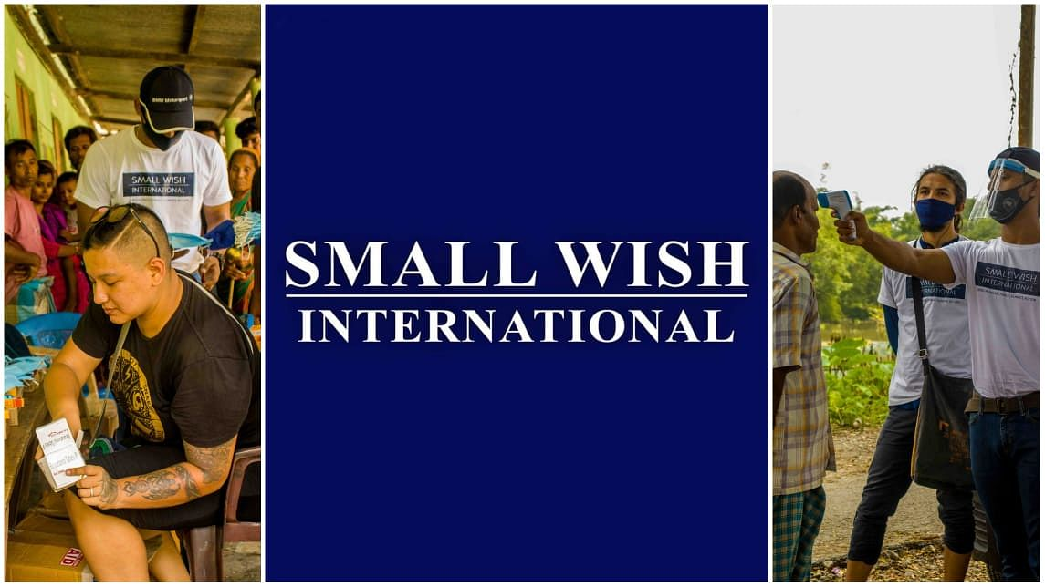 EXO fans, Small Wish International offer help to flood, Covid-hit masses in Assam