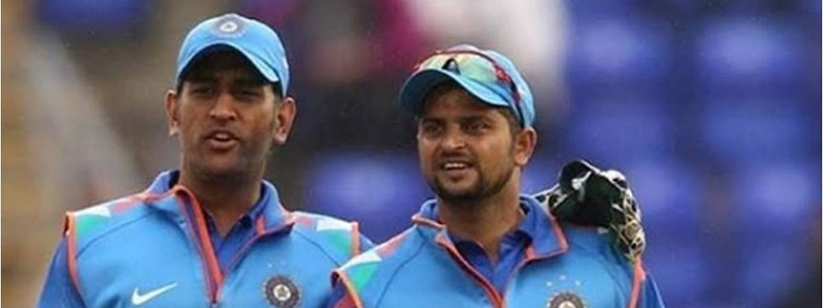 Suresh Raina took to Instagram earlier in the day to wish everyone a happy Independence Day with a picture of him and MS Dhoni together