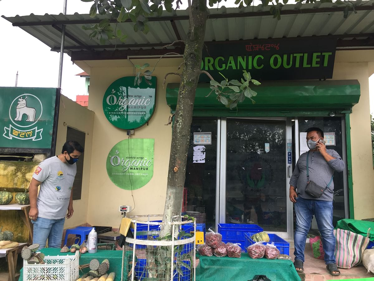 Organic outlet in Imphal