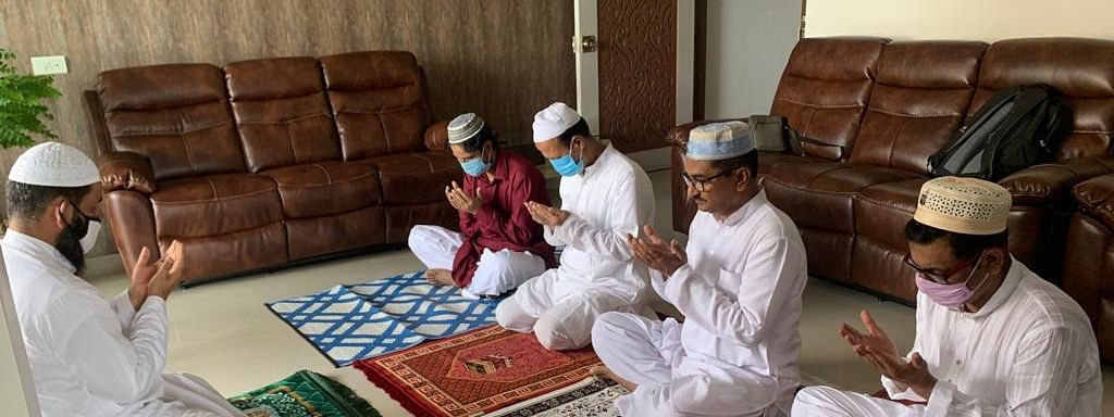 Muslims across Assam offered Eid Namaz by staying at home and maintaining social distancing