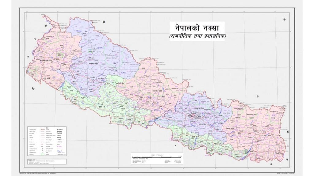 Nepal to send its controversial revised map to UN, Google and India