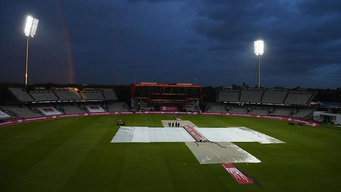 It's rains again at Old Trafford; 1st T20I washed out