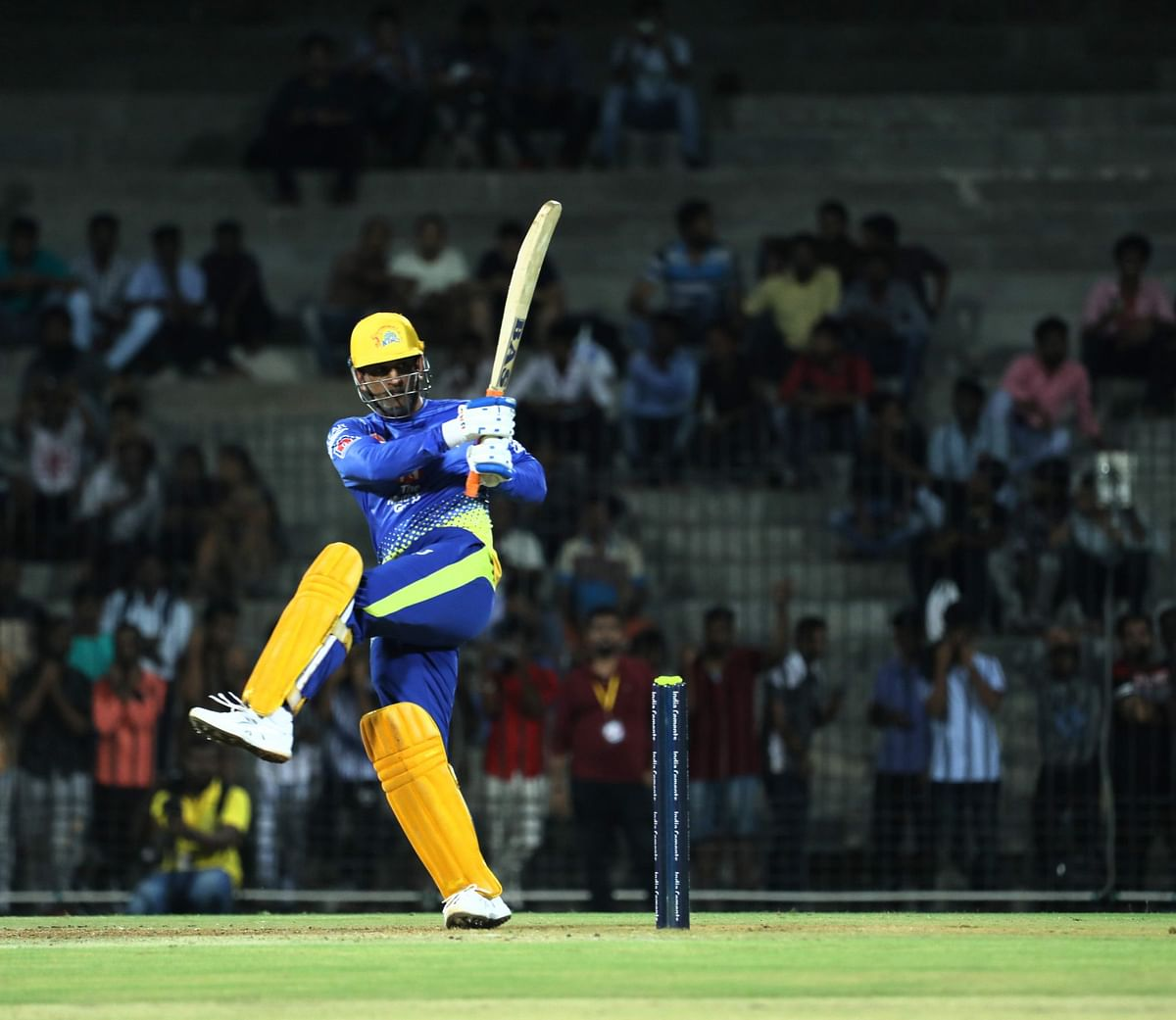 MS Dhoni smashed a blistering 123 of 91 deliveries in a CSK practice match, before the practice sessions got suspended in March due to the coronavirus outbreak