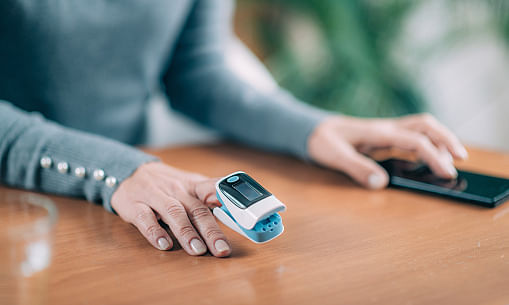 A total of 824 oximeters would be distributed among patients under home isolation in Tripura