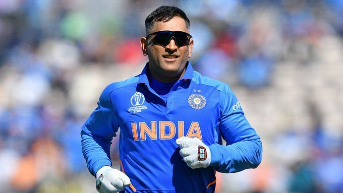 Dhoni has been away from competitive cricket for over a year since India's exit in the semi-final of the ICC Cricket World Cup 2019 against New Zealand
