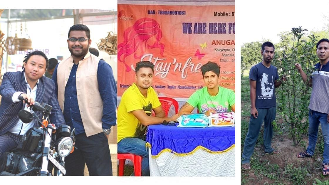 How 3 startups from Tripura tasted success with the 'Power of 2'