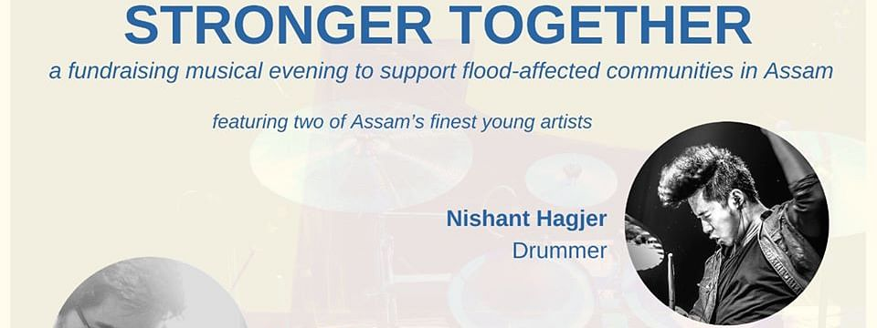 2 renowned artists from the region, Ron Cha and Nishant Hagjer, entertained the audience during the fundraising musical evening