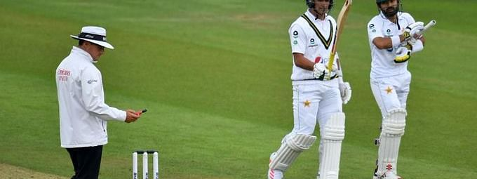 Abbas and Rizwan added added 39 runs for the 9th wicket, at Ageas Bowl