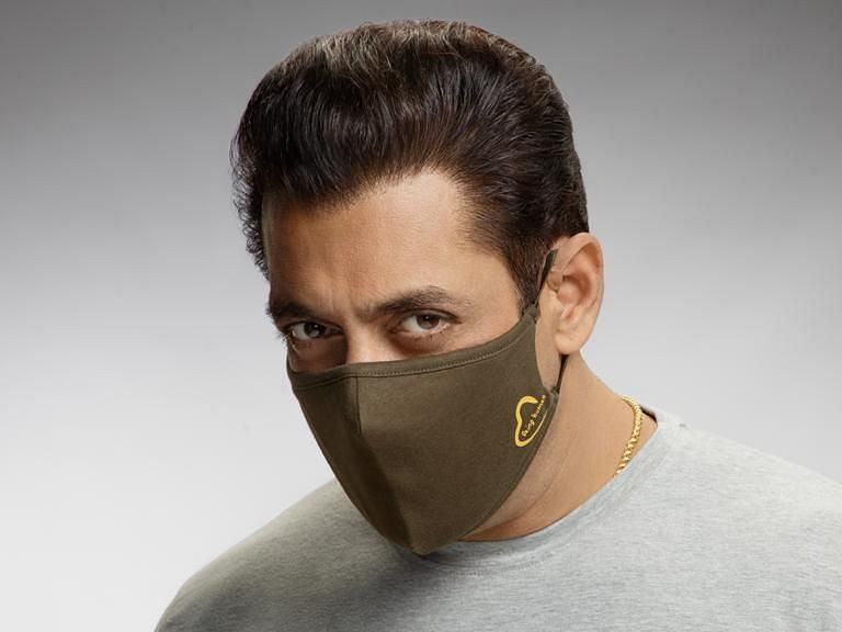 Salman Khan launches Being Human face masks; slammed by Twitterati