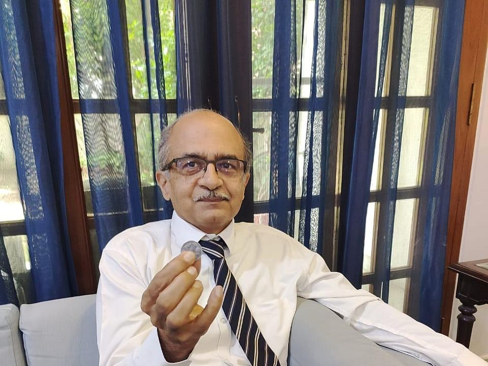 Advocate Prashant Bhushan fined Re 1 by SC in contempt case