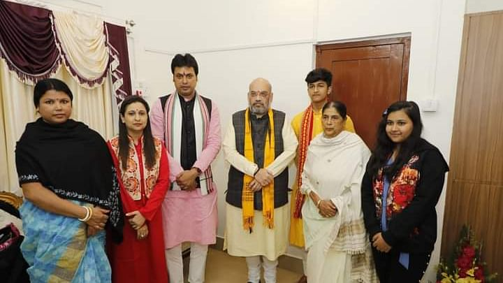 Tripura: Two family members of chief minister test COVID-19 positive