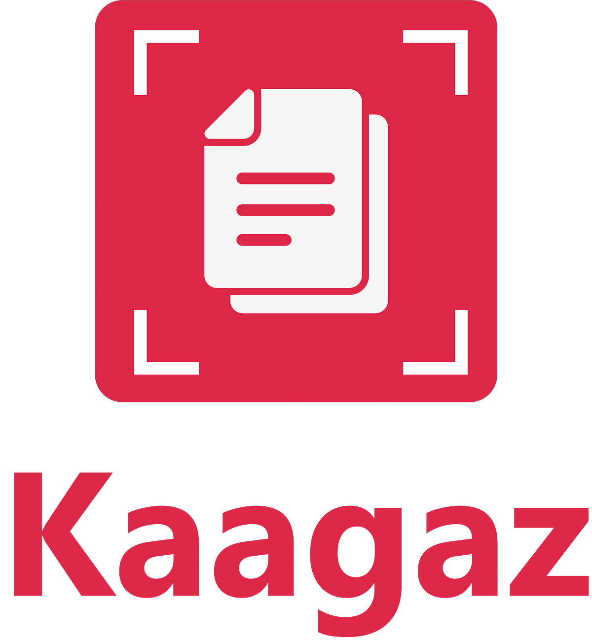 The logo of Kaagaz Scanner