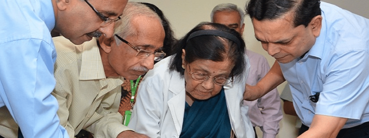 Dr SI Padmavati was called as the 'Godmother of Cardiology'