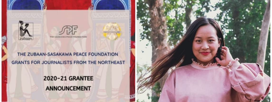 Medolenuo Ambrocia is among the 10 journalists from Northeast, selected for a grant by the prestigious Zubaan-Sasakawa Peace Foundation