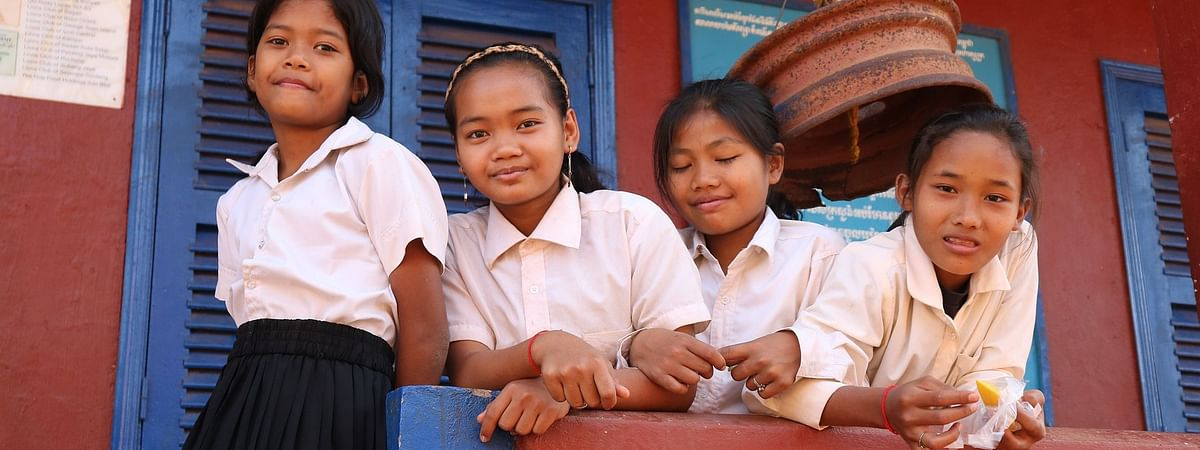 Approximately 1.5 billion schoolchildren were affected by the closing down of schools