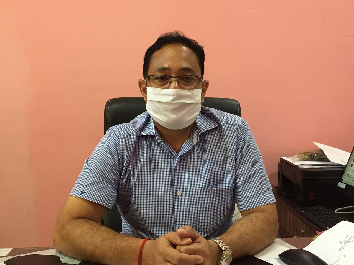 K Debadutta Sharma, Director, Directorate of Horticulture and Soil Conservation, Manipur