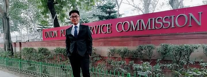 Dhiman Chakma secured 722 rank in the Union Public Service Commission exams