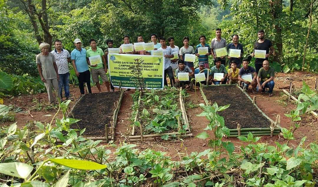 Bordoloi also employs other methods of attracting the younger generation to embrace farming