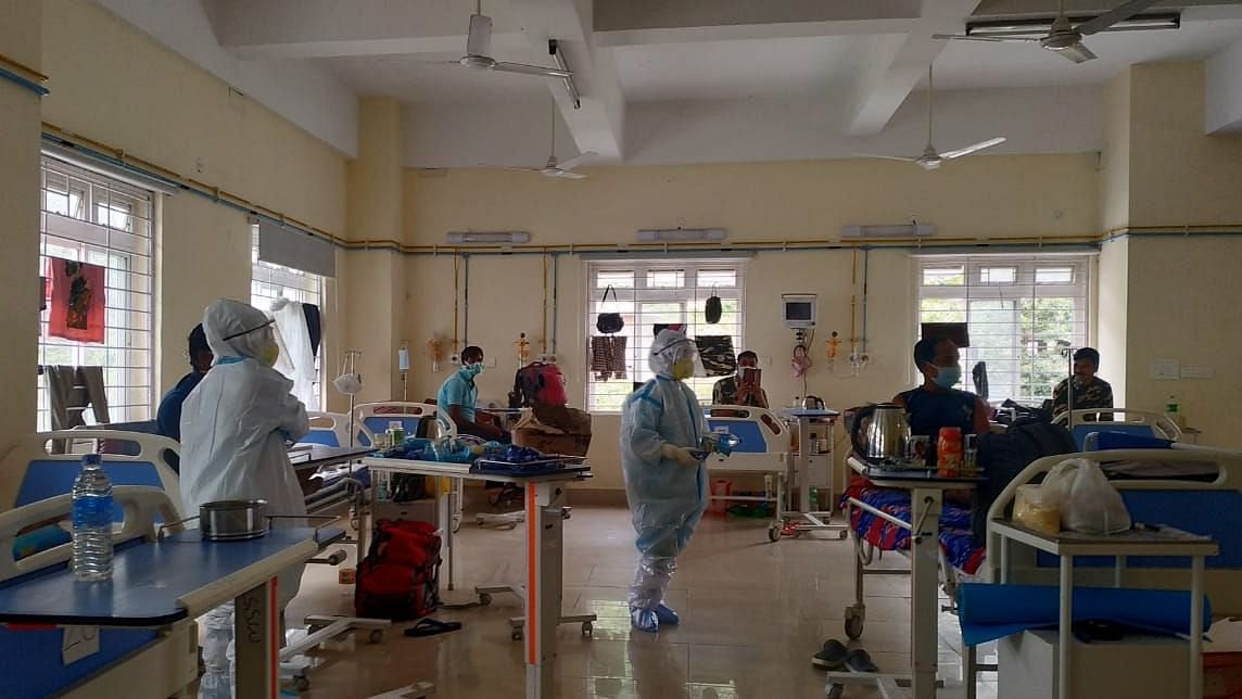 West Tripura district has registered the highest number of positive cases in the last one week