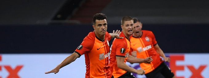 Shakhtar Donetsk took an early lead with Junior Moraes scoring a goal just two minutes into game