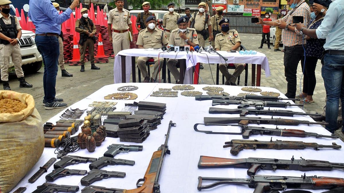 Assam: Ahead of Independence Day, arms, ammunition seized in Udalguri