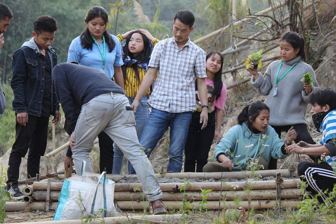 Bordoloi began a students' program called Attracting Students Agripreneurship. He started training college students and school children on how to create Food Forest using local crops